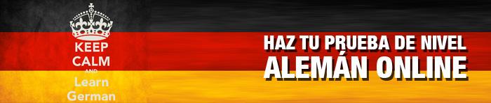 Prueba de nivel de alemán online y gratuita