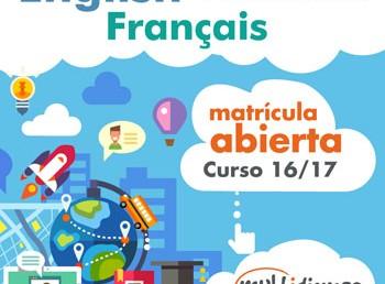 Matrícula gratuita curso 16/17
