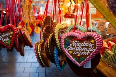 Weihnachtskekse Swing.Mercados Navidad Munich 2 Multidiomas