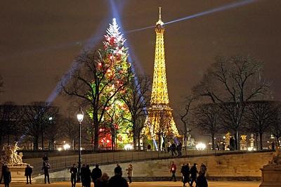 Joyeux Noël!   ¡Feliz Navidad!